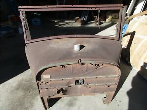 Rare Wood Framed 1928 Model A Briggs Body Cowl With Drivers Side Air Vent