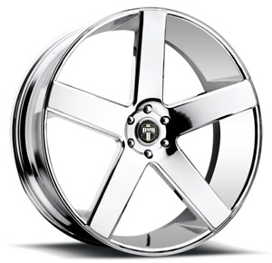 1 New 30x10 Dub Baller Chrome Wheel Rim 5x127 5 127 30 10