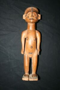 Old African Tribal Statue Chokwe Congo