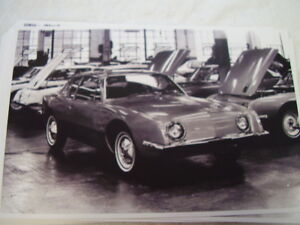 1963 Studebaker Avanti In Factory 11 X 17 Photo Picture