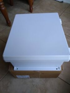 New Ge Electrical Components Box Weatherproof Cvj1412nhwpl2 Light Gray