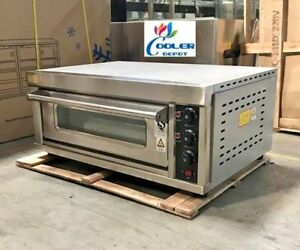 New Commercial Electric Pizza Oven Bakery Pizzeria Cooker Wings Snacks 220v S