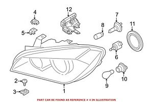 For Bmw Genuine Headlight Restoration Kit Front Right 63117428744