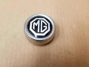 Mg Oem Midget 2 5 Vintage Chrome Metal Center Cap Hub Cover Dust Cap