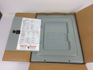Siemens E8016ml 1125s Indoor Load Center 120 240 Volts 125 Amps 8 Spaces 16 Cir