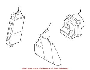 For Bmw Genuine Anti theft Alarm Control Unit 65756950525