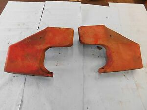 International Farmall 300 Utility Front Frame Rail Castings Pair Antique Tractor