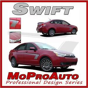 Swift Ford Focus Side Vinyl Graphic Decals Stripes 2009 Professional 413