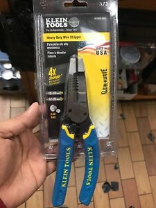 Wire Cutter And Wire Stripper Cuts Solid Wire And Stranded Wire With Screw She