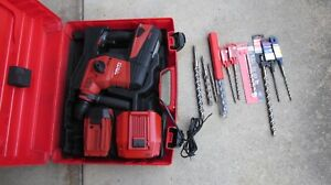 Hilti Te 30 A 36 Cordless Hammer Drill 36v Complete Huge Kit Nice