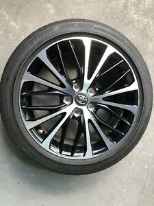 18 Toyota Camry Se 2018 Oem Wheel Rim Tire Great Shape Almost New Bridgestone