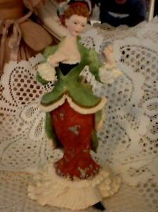 Victorian Lady Collectible Statue Lovely 8 75 9