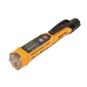 Non contact Voltage Tester W infrared Thermometer Compact Lightweight 12 1000vac