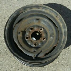 Gm Steel Wheel Rim 15 X 6 Stock Oem Vintage 5 120 7 Bolt Chevy Buick Olds More