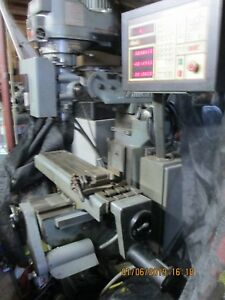 Alliant Mill With Anilam Crusader Ii 3 Axes control qc 30 Taper Ericsson