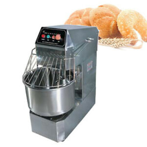 20l Commercial Home Double Action Double Speed Spiral Dough Mixer 220v 110v New
