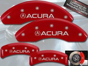 2001 2003 acura Cl Type S Base Front Rear Red Mgp Brake Disc Caliper Covers