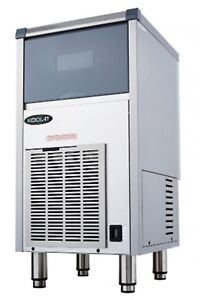 Kool it Kcu 80 ab Ice Maker With Bin Cube Style Undercounter 73 Lbs Air cooled