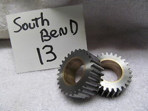 Southbend Lathe 13 Tumbler Gears New