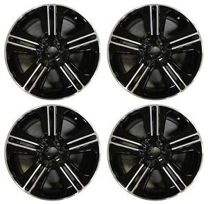 19 Ford Mustang 2013 2014 Factory Oem Rim Wheel 3908 b Black Machined Set