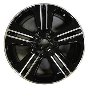 19 Ford Mustang 2013 2014 Factory Oem Rim Wheel 3908 b Black Machined