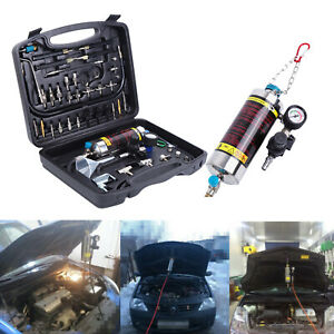 Auto Non Dismantle Fuel System Injector Cleaner For Petrol Efi Throttle Tools