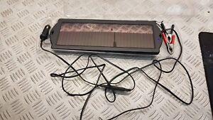 Portable 12v Solar Powered Battery Trickle Charger