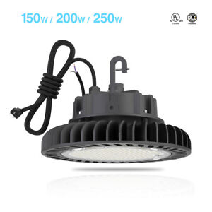 Ufo High Bay led Light Warehouse Fixture Factory Shop Lighting 4 5000k Hyperlite