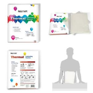 Nuova Premium Thermal Laminating Pouches 9 X 11 5 letter Size 3 Mil 200 Pack