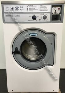Wascomat W630 Washer 30lb White Coin 220v 3ph Reconditioned