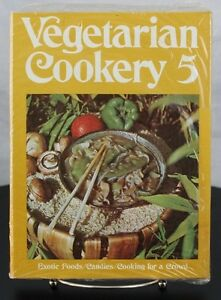 Rare Factory Sealed Vegetarian Cookery 5 Pacific Press Publishing Exotic Meals