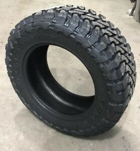 1 New 35x12 50r20 Toyo Open Country Mt 125q F 12 Ply Black Sidewall Tire