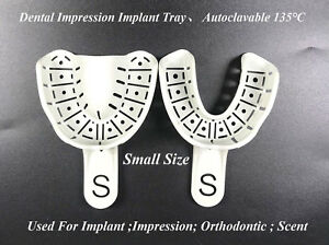 Dental Impression Tray Implant Orthodontic Inlay Autoclave 135 Small Dentist