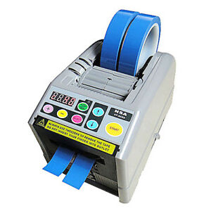 For 0 2 Zcut 9 Electric Adhesive Automatic Double Tape Dispenser Machine 110v