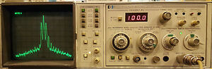 Hp 8558b Spectrum Analyzer Plug In 100khz To 1 5ghz With 853a Frame