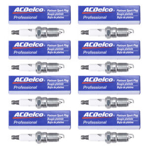 8pcs Spark Plugs Replace Acdelco 19299585 41 962 For Gm Cadillac Chevy Buick Gmc