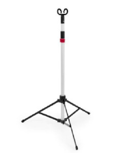 Newsharps Pitch it Portable Adjustable Lightweight 2 Hook 3 Legs Iv Therapy Pole