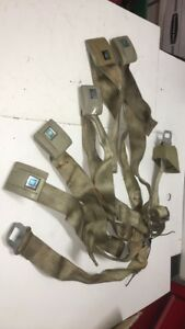 1969 Chevy Chevelle Seat Belts