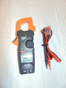 Klein Tools Cl600 Ac Auto Ranging Digital Clamp Meter 600a