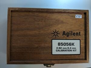 Agilent 85056k 2 4mm 2 92mm Calibration Kit