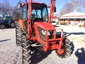 2014 Kubota M7040 4x4 Cab With Kubota Loader