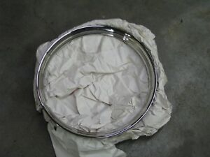 Early Ford 16 Ribbed Trim Rings New 4