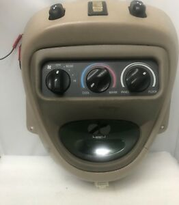 2003 Ford Excursion Overhead Console Tan Oem 4039410100
