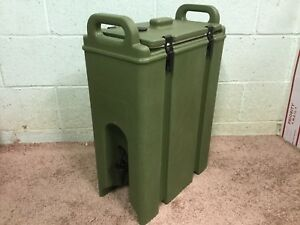 Cambro Insulated Beverage Container Catering Drink Water Jug Dispenser Hot Cold