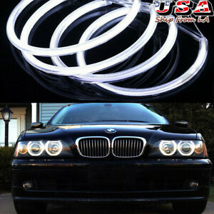 4x Led Angel Eyes Lamp Halo Ring Xenon Headlight For Bmw 325i 328i 525i 530i Us