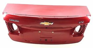 352 Chevrolet Cruze Ltz 11 14 Rear Trunk Lid Cover Luggage Panel Red
