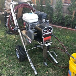 Spray Tech Gpx 1250 Gas Powered Airless Paint Sprayer