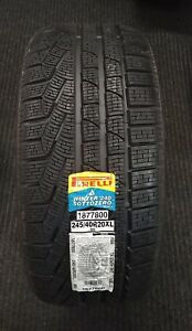 1 New Pirelli Winter Sottozero Serie Ii 245 40 20 Snow Tire