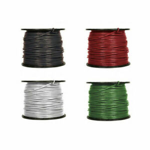 8 Gauge Stranded Thhn Thwn 2 Copper Building Wire 600v Black Green Red White