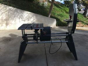 Shopsmith Mark V Model 510 Table Saw Disc Sander Lathe Twice Used